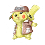 Red the Disrespect Pikachu by Contendo64