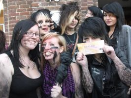 BVB Group of friends by jaxonshadows