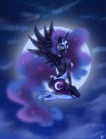 Nightmare moon! by Wooxx