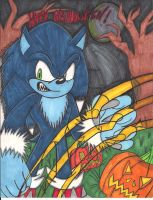 A sonic's Halloween by SONICJENNY