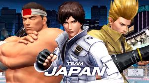 Japan Team - The King of Fighters XIV by Zeref-ftx