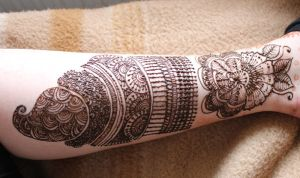 Henna Indian style by Monaku