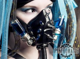Cybergoth respirator mask by LahmatTea
