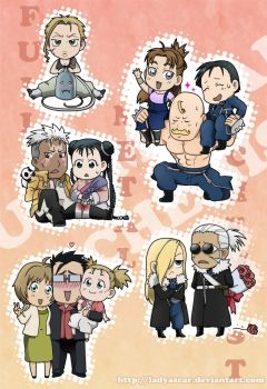 Chibi FMA set by D-Thessy