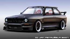 BMW E30 Tuned by gt1750