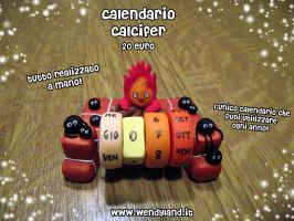 Calcifer Calendar by Wendyland
