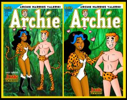 Archie Marries Valerie Halloween by ChibiCelina