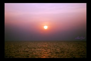 Sunset in Mumbai by lildreams