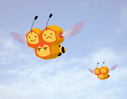 Combee by ice-cream-skies