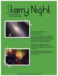 Starry Night Flyer Design by KawaiiCheruChan