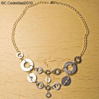 Industrial hardware necklace by skuggsida