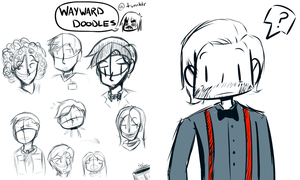 Doctor Who Sketches 121612 by WaywardDoodles