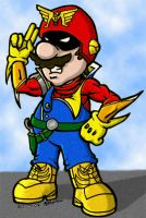 Captain Mario Falcon? by renslo689