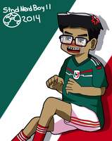 Frustration after Passion (A World Cup's Drawing) by StndNerdBoy11