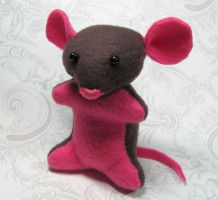 Dumbo Rat Plushie by DragonsAndBeasties