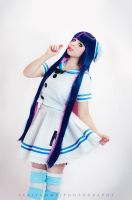 Stocking Anarchy Cosplay - Sailor Outfit by Thecrystalshoe