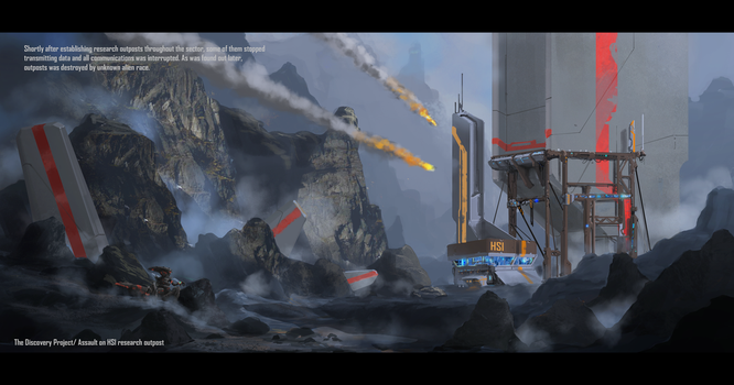 Assault On Hsi Research Outpost by SDFleshmaster