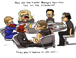 Hipster Avengers by The-Z