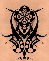 Tribal Compass by 2MarK4