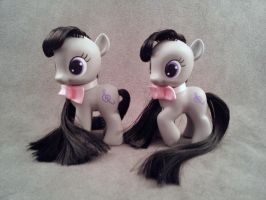 Filly Octavia - FiM custom my little ponies by hannaliten