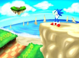 One Hour Sonic - Scenery by Chobits13