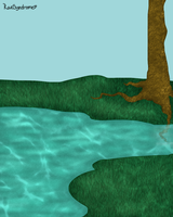 Beauty of scenery WIP by RaeSyndrome