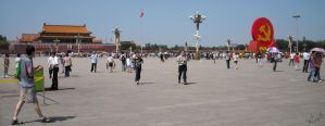 Tienanmen Square by arionquill