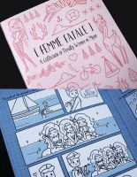 Femme Fatale (Comic/Book) by littlepaperforest