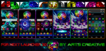 NEXT LAUNCHER 3D THEME Hyper (2Dn3D MODE) by ArtsCreativeGroup