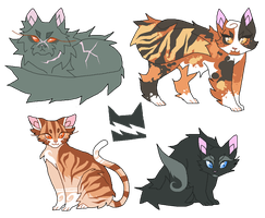 thunderclan med cats by selfish-machines
