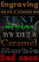 Text styles by DiZa-74