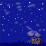 Oekaki: Wall-E Stargazing by LimeTH