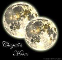 Chagall's Moons by Tenebris69