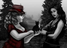The Truce Lady Simma and Lady Merreth by SYoshiko