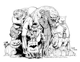 Rogue Gallery Halloween Inks by tshorty11