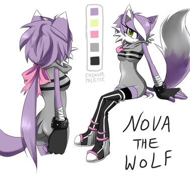 Nova The Wolf by Pink-Scribble