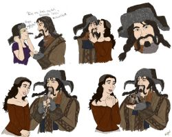 Hobbit : My beloved Bofur by TheLastUnicorn1985