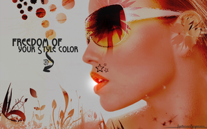 Freedom of your Style color by DDavey