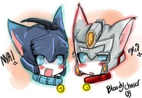 Kitties Blurr Drift by BloodyChaser