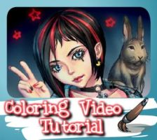Coloring video tutorial by nyanyo