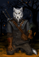 Wake the white wolf by ThunderboltFire