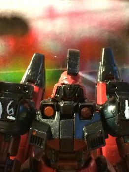 HUT close up torso and head by Gundam0078