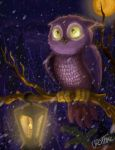 Owl and Lantern: Repaint by Ursatomic