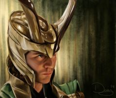 Another Loki by woopsadaisye