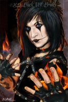 Jinxx, close-up by Cynthia-Blair
