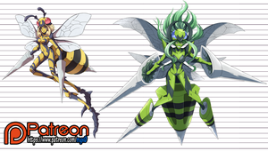 One Punch Mon: Beedrill Girl