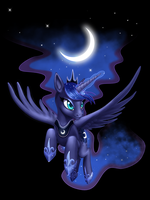 Luna Flight by misswish