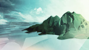 Low Poly Island  by duncanbdewar