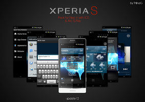 Xperia S theme for Sony ICS v1.3 by ThilinaC