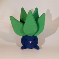 Plush - Pokemon - Oddish by mihoyonagi